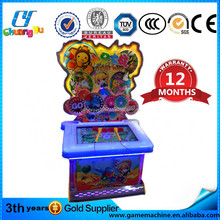 China fruit wars Hit master touch screen lottery ball kids game product