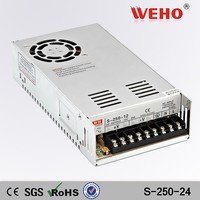 Factory outlet 250w dc Switching Power Supply 24v 10amp smps