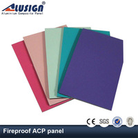 Alusign wall cladding contruction material acp panel modern construction materials