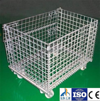 Cheap Steel wire folding mesh Container Manufacturer China