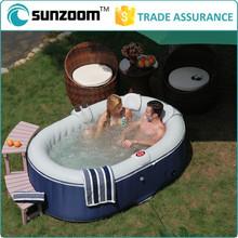 Fashion inflatable hot portable spa bathtub pool