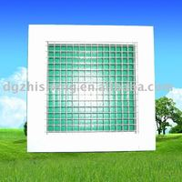 ZS-DF Aluminum alloy hvac egg crate grille