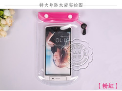 "5.7'' PVC Waterproof bag Underwater Pouch Case For iphone 6 4.7"" For Samsung galaxy note 4 3 2 S5 S4 S3 phone Cover universal"
