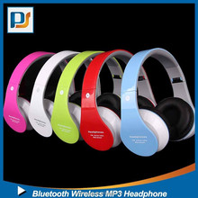 Portable foldable music bluetooth stereo headphone headset with TF card