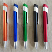 Wholesale new products 2015 innovative promotional plastic ball pen