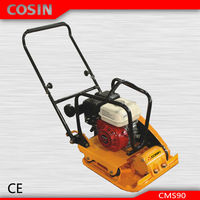 Gasoline Robin EY20 Engine Cosin CMS90 Hand Held Concrete Road Plate Compactor