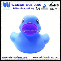 Small blue duck toy/plastic baby duck float