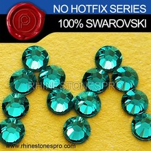 Promotional Swarovski Elements Blue Zircon (229) 16ss Flat Back Crystal Non HotFix