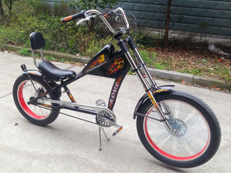 Adult chopper bicycles
