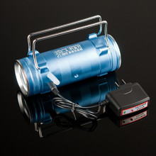 Digital 2 colors fishing led flashlight