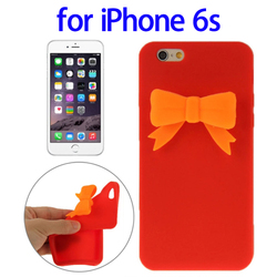 China Factory Stereoscopic style silicone case for iPhone 6s silicone