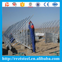 solar mounting rail solar panel support Photovoltaic Stents