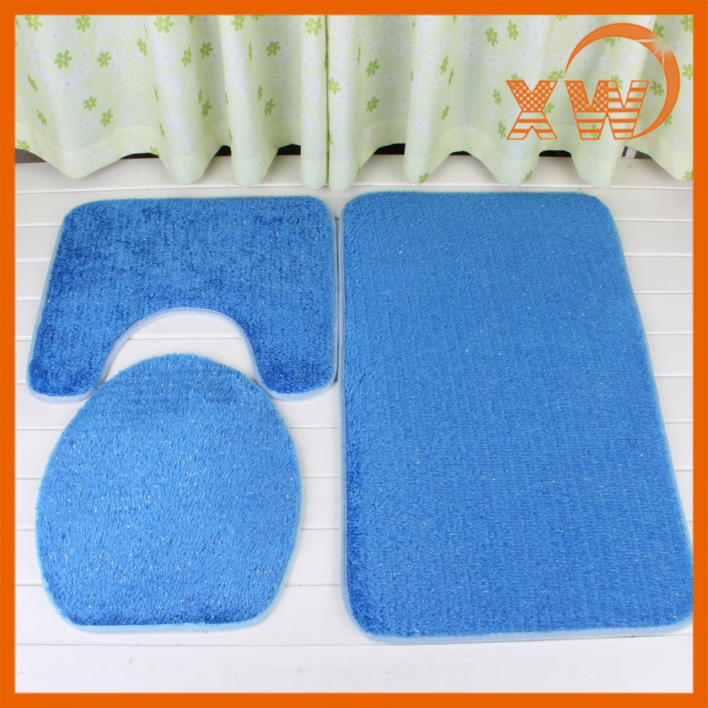 Wholesale waterproof bathroom mat sets with cheap price for Whole bathroom sets