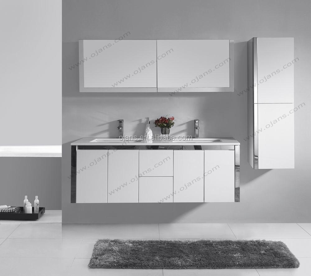 1500mm Bathroom Set High Gloss White Mdf Bathroom Vanity Cabinet ...