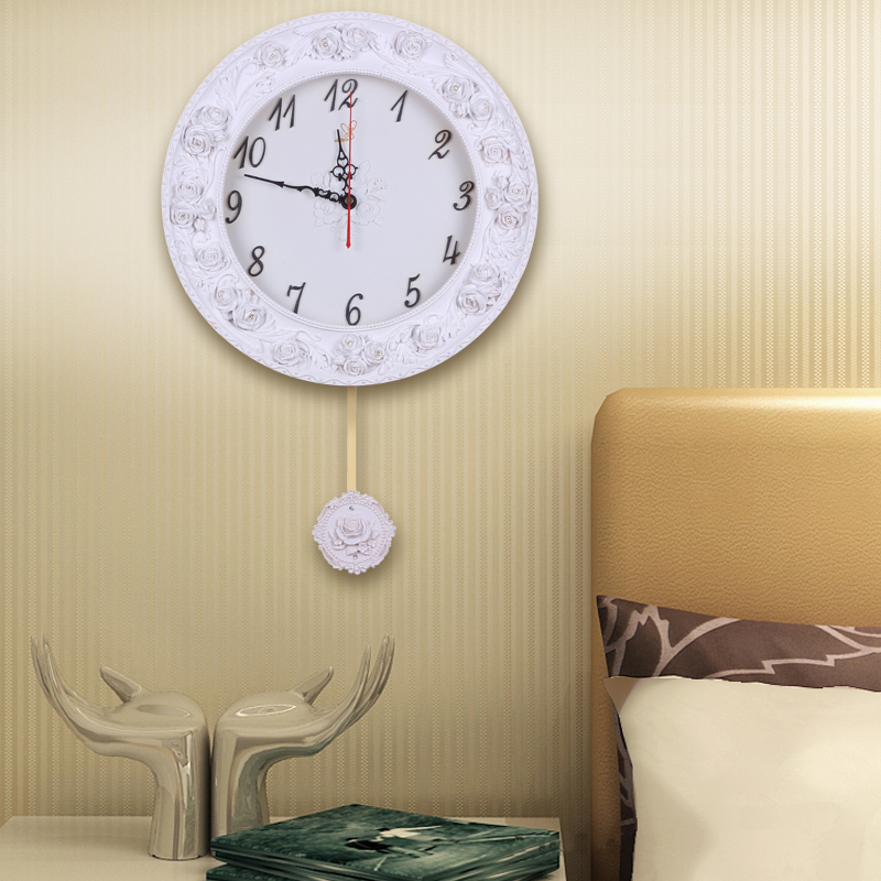 saati decorative resin large wall clocks recommend for living room