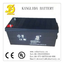 12v deep cycle wind solar power panel container battery 200ah