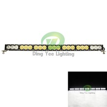 6000k Amber White 210w cheap led light bar 38'' led light bar for truck