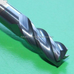 cnc end mill carbide 4mm flat end mill