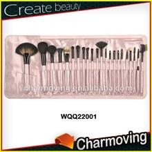 22 pcs Mak up Brushes Professional Cosmetic Brush Set With PU Bag