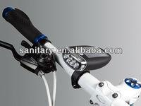 LED solar bicycle light and bike headLight