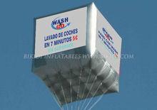 floating cube, helium cube balloon K7020