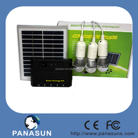 2015 hot solar energy system with 3 pcs LED lamp and 4w solar panel