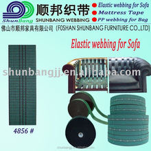 Jacquard elastic webbing band for sofa with high elasticity (4856#)
