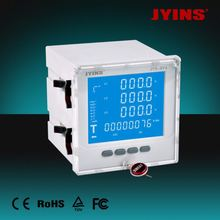 CE LCD 96*96*80mm kwh meter digital 3 phase