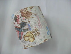 beautiful color toilet rolls,story printed toilet roll