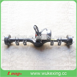 electric auto rickshaw, electric rear axle assembly , dc motor