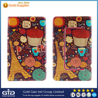 GGIT Leather Universal Flip Cover Case For 7-7.5 inch Mobile Phone