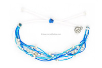 wholesale china product custom fabric bracelet friendship one direction