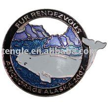 enamel emblem of animal protection