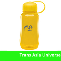 Hot Selling Logo custom kids plastic water bottle with straw strap