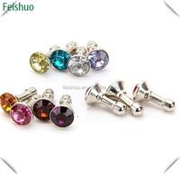Diamond Earphone Dust Plug , Headphone Jack , Dust Cap For iphone 4 4S for ipad