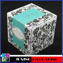 Hot Popular wholesale recyclable paper candle packaging boxes