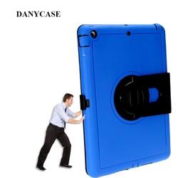2015 Brand New TPU+PC case for ipadmini 1/2/3,360 degree rotate for ipad case