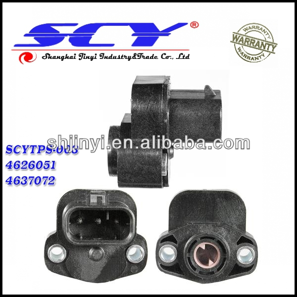 Dodge Shadow 1992 Tru Tech Throttle Position: Throttle Position Sensor For Chrysler Dodge Jeep 4761871ab