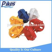 High quality durable plastic 25m PVC swimming pool lane rope