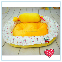 Wholesale New Cute Pink Pet Bed with Cushion