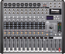 12 channels professional pa sound system audio power mixer EG1222SD
