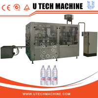 Full-automation packaged spring water filling project 100BPM