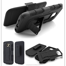New Products Armor Holster Hybrid Rugged Cover Case For Samsung galaxy s6