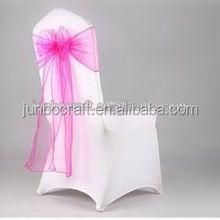 chair cover satin sash
