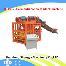 big factory provides cheap german technology concrete block brick machine have 7 branch offices in Africa