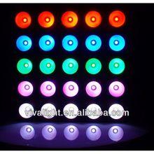 25 X 30W RGB Tri color led matrix light the stage lights china supplier