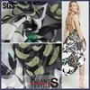 wholesale chiffon fabric for dresses /patterned chiffon fabric