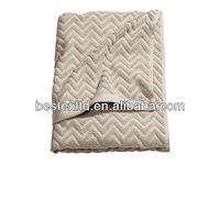 Beige Jacquard Thin Organic 100% Cotton Terry Bath Towel Fabric