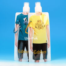 plastic drink container with carabiner