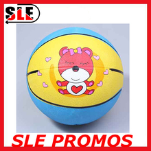 Wholesale custom kids rubber basketball outdoor basketball